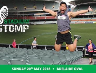 Stadium Stomp 6000 Stair Challenge  - Entry for $44.95 - 20 May - Adelaide Oval (Don't Pay $59.95)
