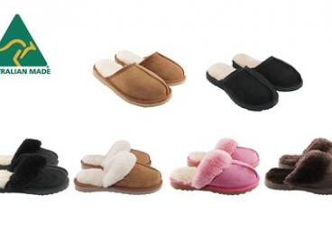 $39 for a pair of Bondi UGG Australia-Made Slippers for Men and Women (Don't Pay $99.95)