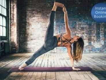 1-Month Unlimited Hot Yoga or Core Pilates for One ($49) or Two People ($95) at Urban OM (Up to $704 Value)