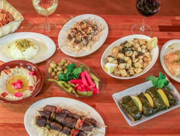 Eight-Dish Lebanese Mezze Banquet in North Melbourne with Wine or Beer - Just $39 for Two People or $78 for Four People (Valued Up to $251)