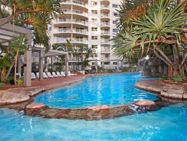 Surfers Paradise: 2-, 3-, 5-, or 7-Night Queensland Getaway for Two with Parking at Alpha Hotel Sovereign Gold Coast