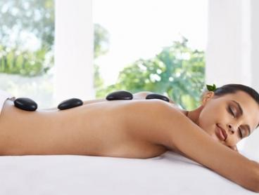 Hot Stone Massage: 30 ($25) or 50 Minutes ($45) at Sheer Haven Beauty Therapy (Up to $99 Value)