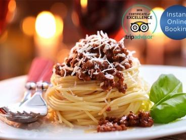 Three-Course Dinner with Wine for Two ($49) or Six People ($147) at Montania Cafe Bar Restaurant (Up to $324 Value)