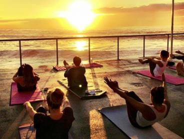Five-Class Yoga Pass: Manly/Freshwater Locations ($25) or All Locations ($35) with Yoga By the Sea (Up to $95 Value)