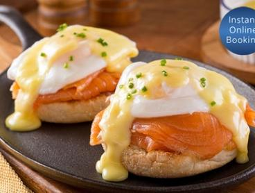Breakfast with Coffee for One ($13), Two ($24) or Four Ppl ($47) at The Promenade Cafe South Morang (Up to $104 Value)