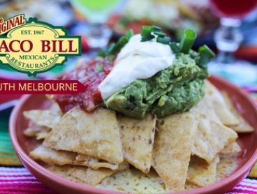 $12 for $20 or $25 for $50 to Spend on Mexican Food and Drinks at Taco Bill - South Melbourne