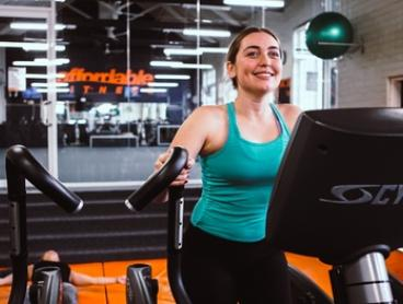 21 Days of Access to Yoga, Pilates & Fitness Classes: 1 ($21) or 2 People ($40) at Affordable Fitness (Up to $220 Value)