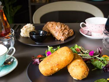 Enjoy Lunch with a Pot of Tea at a Quirky Mitchell Tea House - Choose from Over 200 Teas! Just $22 for Two People or $42 for Four People (Valued Up To $109.12)