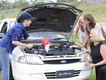 $29 for a Two-Hour Women's Car Maintenance Workshop at Galmatic, Four Locations (Up to $89 Value)