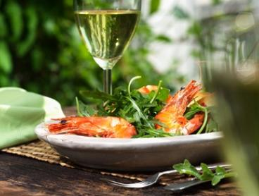 Two-Course Meal with Wine for Two ($39) or Four People ($77) at Al Forno Cafe Bar and Grill (Up to $181.40 Value)