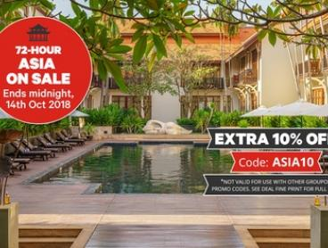 Siem Reap: 4 Nights for Two with Breakfast, Dinner, Massage and Full-Day Angkor Tour at Anantara Angkor Resort, Cambodia