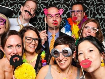 Photobooth Hire: Two ($225), Four ($299) or Six Hours ($399) from Think Photobooths Melbourne (Up to $699 Value)