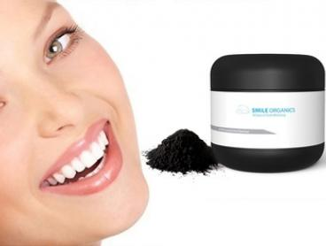 $29 for a Smile Organics Teeth Charcoal Whitening Kit Including Six-Month Supply and Bamboo Toothbrush (Don't Pay $65)