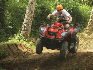 Bali: From $75 for a Quad Bike Ride for One or Two with Hotel Transfer, Safety Equipment and Guide from Bali Sun Tours
