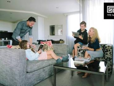 Canberra: 1- or 2-Night City Break for Up to Four with Wine and Parking at Adina Serviced Apartments Canberra Dickson