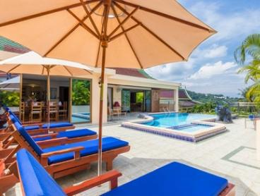 Phuket: Five or Seven-Night Pool Villa Stay for Eight People with Breakfast, Wine and Massage at Private Villas Phuket