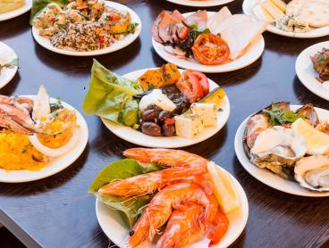 All-You-Can-Eat Fresh Seafood Buffet