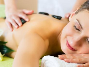 Blissful Aromatherapy or Hot Stone Massage Package
