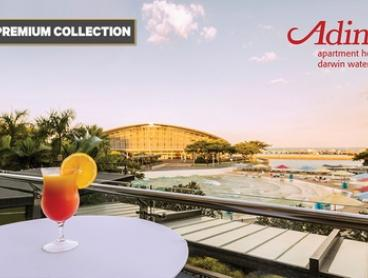 Darwin: 1-5 Nights for Two with Wine, Late Check-Out and Option for Breakfast at Adina Apartment Hotel Darwin Waterfront