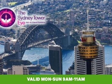 Sydney Tower Eye: 2-for-1 Entry - Two Children for $20 or Two Adults for $29 (Up to $58 Value)