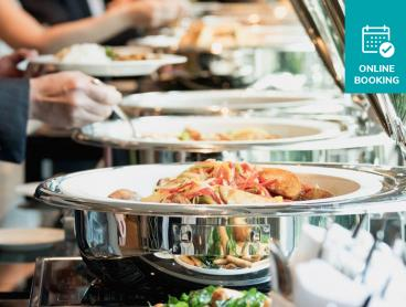 All-You-Can-Eat Breakfast Buffet with Drinks