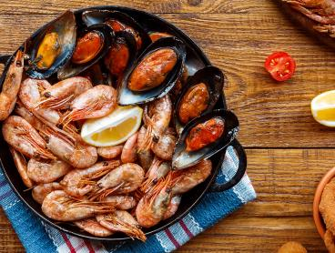 Save up to 51% on a Decadent Seafood Platter with Dips and Wine in Docklands