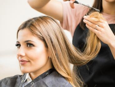 Luxe Hair Styling at New Boutique Salon From $29 or Upgrade to Include Foils