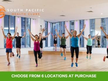 $14 for 14-Day Access, Programme and PT Session at South Pacific Health Club, Six Locations (Up to $250 Value)