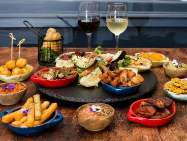 Shared 14-Dish Colombian Dining & Wine - 49% Off!