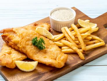 Fish-a-Licious Fish & Chips with a Drink From $7.50 - Choose to Dine-In or Takeaway!