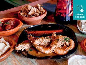Shared Tapas Dining Experience with a Jug of Sangria per Couple - Save up to 56%!