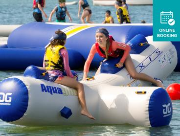 Cool Off with Entry to Redcliffe's Own Inflatable Water Park for Just $15!