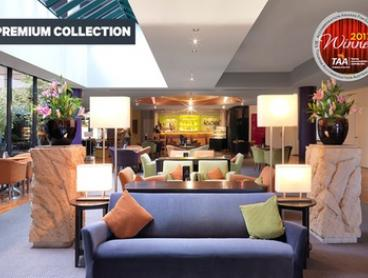 Melbourne: 1 or 2 Nights for Two with Late Check-Out and Optional Breakky and Parking at Amora Hotel Riverwalk Melbourne