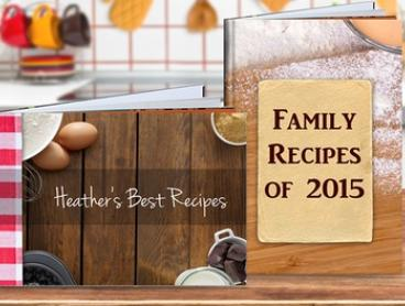 From $1 for a Personalised Recipe Book (Don't Pay up to $19.95)