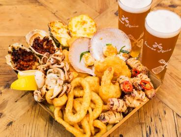 Seafood Platters with Beers for Two from $45 at Sydney's Iconic Fish Markets