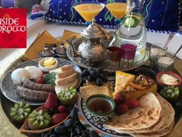 Brunch Board with Coffee and Momosa for Two ($39) or Four People ($69) at Inside Morocco (Up to $180 Value)