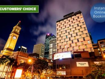 Central Brisbane: 1-3 Nights for Two with Parking, Late Check-Out and Food Credit at Mercure Brisbane King George Square