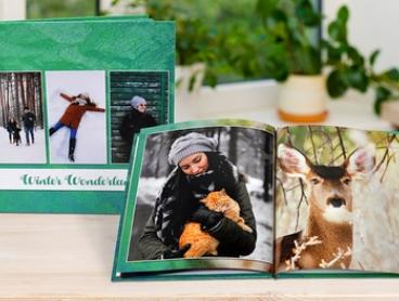 From $1.95 for a Personalised Softcover or Hardcover Photobook (Don't Pay up to $254.95)