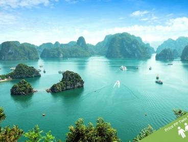 Vietnam: $319 Per Person for a Five-Day Tour with Halong Bay Cruise, Guided Tours, and Meals with Halong Tours Booking