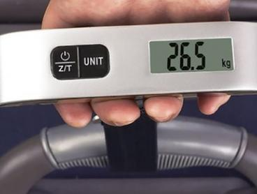 Digital Travel Luggage Weighing Scale: One ($12.95) or Two ($19.95)