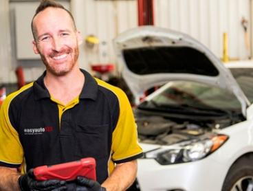 Premium car service package for Small ($65) or Medium Car ($75) at easyauto123, 2 Locations (Up to $489 Value)