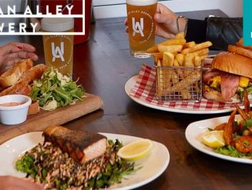 Two-Course Brewery Lunch or Dinner with Drinks in Docklands