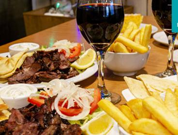 Feast on Authentic Greek Favourites with Wine in Oakleigh