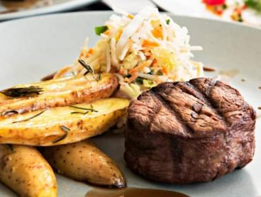 Two-Course Lunch with Wine and Views in Pelican Waters