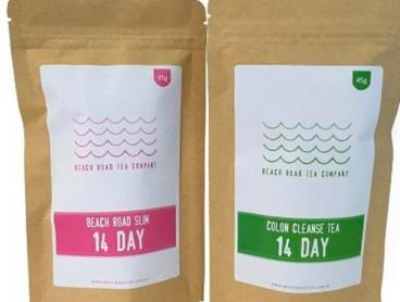 Save up to 57% on The Beach Road Tea Detox Programs Including Standard Shipping