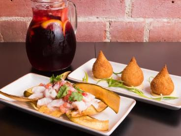 Tapas Dishes with Sangria or Wine in the CBD