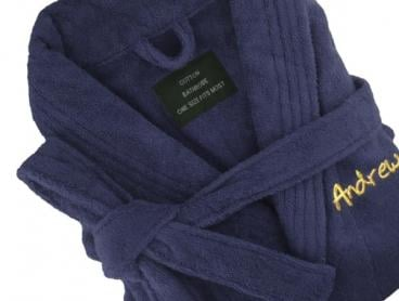 Personalised Egyptian Cotton Bathrobes