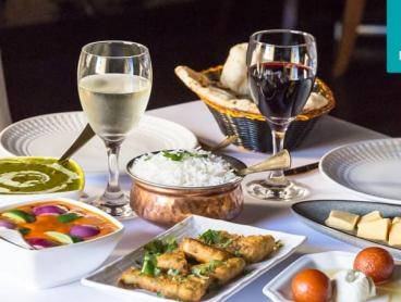 Three-Course Indian Feast with Sides & Drinks in Phillip