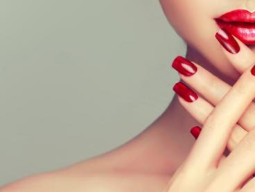 Shellac Nail Package in Footscray with Hair Styling Upgrades