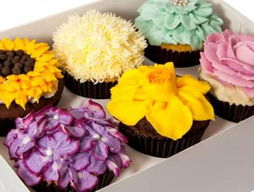 Save up to 61% on a Two-Hour Cupcake Decorating Class - Upgrade to Bring a Friend!